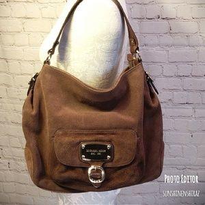 ■ Michael Kors■  Suede Hobo Bag